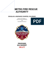 South Metro Fire Rescue Authority Proposed 2014 Budget