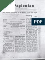 Senior Issues 1933-1952