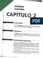 Cap 2. Distribuciones Frecuencia