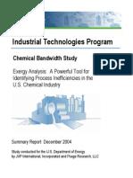 Chemical Bandwidth Report