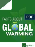 Global Warming factsheet