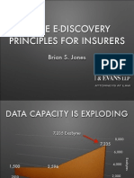 Three E-Discovery Principles for Insurers