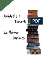 Introducción al Derecho - UNIDAD 1 (temas 4 y 5)