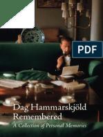 2011 Hammarskjold Remembered