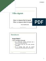 AnIII Procesare Filtre Digitale