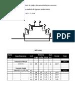 Se requiere construir un graderío de piedra ó mampostería con concreto C