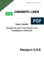 Manjaro Manual 0.8.8rc1