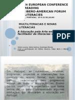 2009-07 - A Educação pela Arte enquanto facilitador de literacias várias