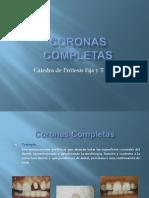 Coronas Completas Definitivas