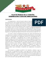 Plan Anual de Trabajo Comision Himno Nacional Mexicano