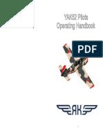 YAK-52 Operating Handbook