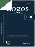 O umskoj potrebi za vjerom u božju opstojnost po raspravi Wizenmanna i Kanta - Logos - vol 1, br. 2, 2013 - članak Lj. F. Ježić