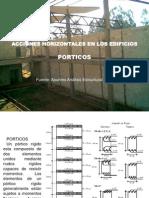 1 Acciones Horizontales FUERZAS EXTERNAS Porticos