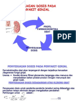 Penyesuaian Dosis Pd Gangguan Ginjal
