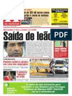 As Noticias Edição N0 65 de 7 de Agosto