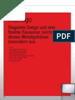 Intertego Elegantes Design und eine flexible Bauweise zeichnen dieses Metallgehäuse besonders aus