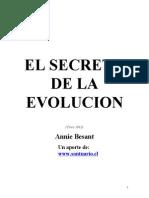 El Secreto de La Evolucion