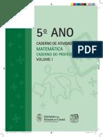 Caderno de Atividades 5 Ano Prof Volume i
