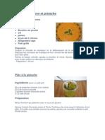 Soupe de Potiron Et Pistache