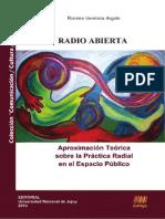 Radio Abierta. Aproximación teórica sobre la práctica radial en el espacio público (Romina Argote)