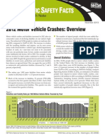 2012 Motor Vehicle Crashes-Overview