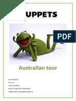 the muppets bio and itinarary