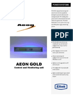 Aeon Gold Control Unit