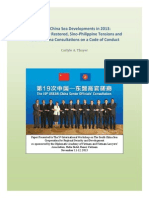 Thayer South China Sea Developments in 2013