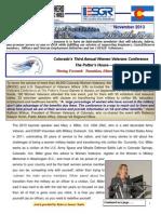 COESGR Newsletter November 2013