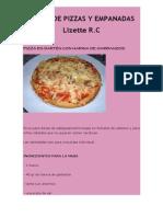 Curso Pizzas y Empanadas