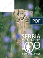 Serbia Remembers 100 Years of  WWI