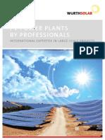Flyer PV Power Plants