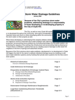 Storm Water Drainage Guidelines Jan08