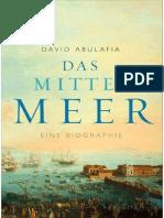 Das Mittelmeer - Eine Biographie