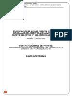 Bases_amc-007-2013 Mantenimiento Camionetas Derivada de Ads 003-2013, 1a Convocatoria