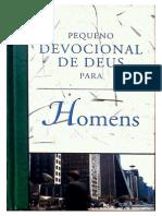 Devocional Para Homens