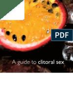165840 Clitoral sensation
