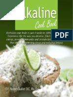 Alkaline Cook Book by Dr. Annie Guillet