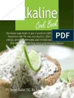 Alkaline Cook Book by Dr. Annie Guillet