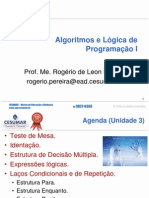 Aula 2 - Algoritmos e Logica de Programacao I