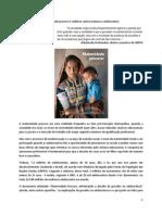 Maternidade precoce e violência contra meninas e adolescentes