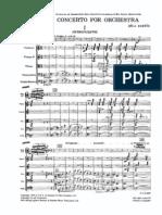 Concerto for Orchestra Bartok