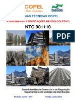 NTC901110 ENTRADA DE SERVIÇO USO COLETIVO