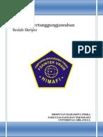 LPJ Bedah Skripsi Material