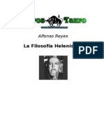 La Filosofia Helenistica - Alfonso Reyes[1]