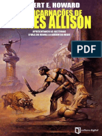 robert e howard - as encarnações de james allison