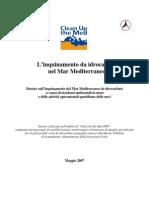 L'inquinamento da idrocarburi nel Mar Mediterraneo