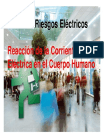 RE7 Reaccion de La Corriente Electrica en El Cuerpo Humano
