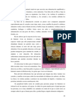 Etología del Hámster - Alimentación