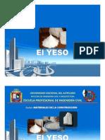 Diapositivas de Yeso